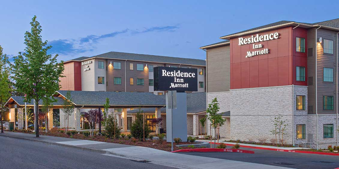 RESIDENCE INN HOTEL TO OPEN AT SEA-TAC AIRPORT